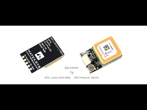 Matek Systems SAM M8Q GPS Module Support GLONASS Galileo da Banggood