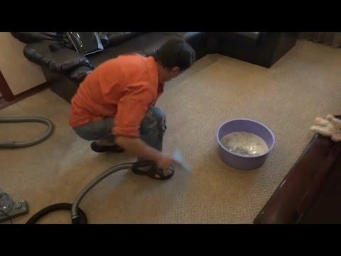 Мифы Моющих Пылесосов.Как почистить ковер моющим пылесосом за 200 грн. Кто круче человек или пылесос
