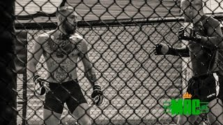 Conor McGregor sparring ahead of UFC 205: The Mac Life Day 1 Series 2 SBG