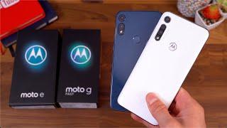 Motorola Moto E (2020) & Motorola Moto G Fast Unboxing: $150 vs $200!
