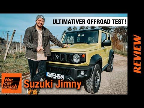 Suzuki Jimny (2021) Der ULTIMATIVE Schwarzwald OFFROAD-TEST! 🤯 Fahrbericht | Review | Nutzfahrzeug