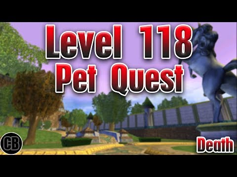 Wizard101: New Ghulture 118 Death Pet (Test Realm