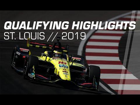 2019 NTT IndyCar Series: St. Louis Qualifying Highlights