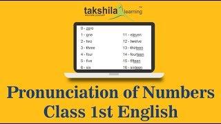 Class 1 English-Demo