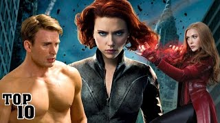 Top 10 Hottest Marvel Characters