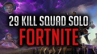 29 Kill Squad Solo BR | Fortnite