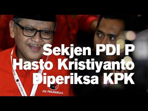 Sekjen PDI P Hasto Kristiyanto Diperiksa KPK