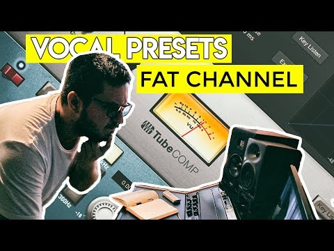 Free Trap / Rap Vocal Presets for Studio One ( FAT Channel )