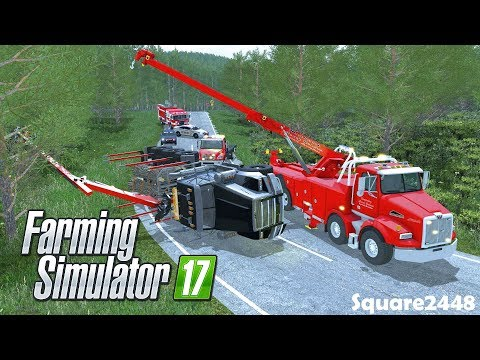 The Big Lift | Log Truck Rollover | Heavy Rescue | Rotator