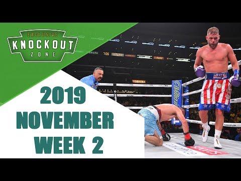 Boxing Knockouts | November 2019 Week 2