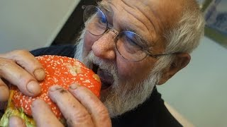 ANGRY GRANDPA TRIES THE ANGRIEST WHOPPER!!