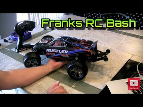 Traxxas Rustler VXL #1 - Unboxing, Review, Test Drive - OMG FAST! RC Cars