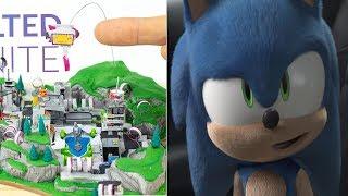Rediseñan el TRAILER de Sonic | ¡NEO PICADOS de arcilla! // CrisCraft1304