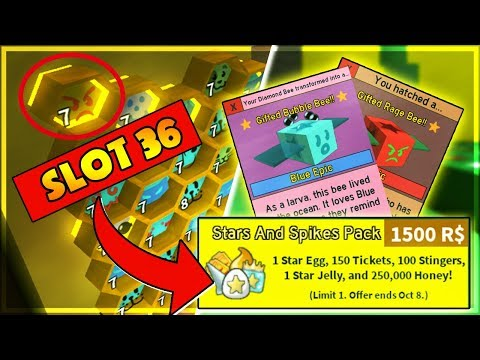 Giveaway Roblox Buy Slot And 36 Second Bee Gift Pack 1500 Robux
