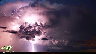Relaxing Sleep Music with Rain & Thunder Sounds • Ambient Sleeping Music to Fall Asleep to ★183