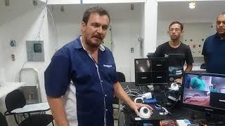 Aula prática de CFTV - Instalação de Câmeras