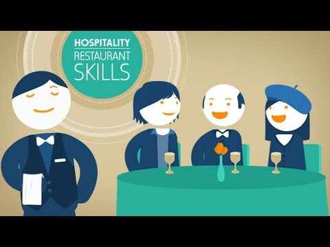 Restaurant Skills Training: How to be a great waiter - YouTube