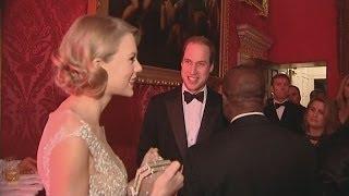 Prince William meets Taylor Swift and Jon Bon Jovi!