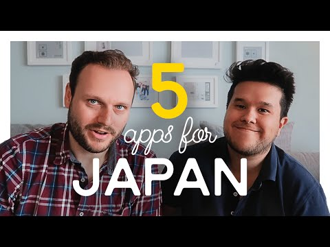 Video Top 5 Apps for your next Trip to Tokyo / JAPAN TRAVEL