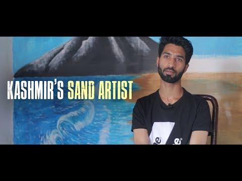 Kashmir's sand artist
