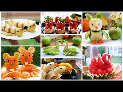 10 FRUIT CARVING AND CUTTING TRICKS