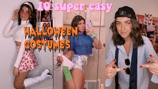 10 CUTE & EASY HALLOWEEN COSTUMES