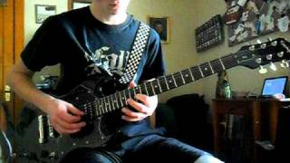 laces out dan guitar cover - the fall of troy