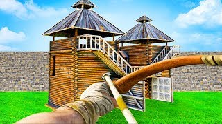 ARK: Survival Evolved - BUILDING OUR BASE!! (ARK Extinction Gameplay)