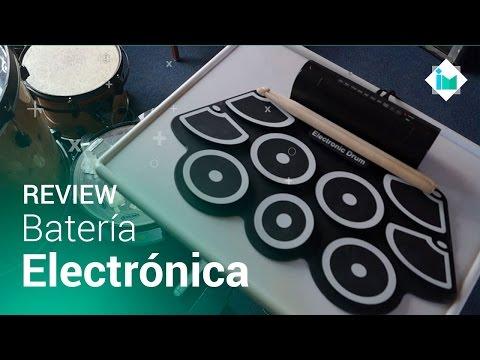 Batería electrónica básica (MIDI) - Review en español