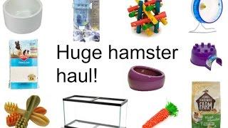 Huge Hamster Haul From Petco, Petsmart, And Pet Supplies Plus