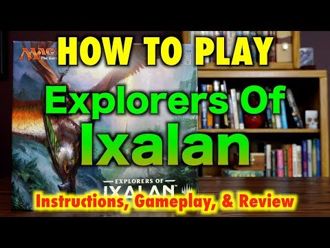 MTG – How To Play Explorers Of Ixalan – Instructions, Unboxing, and Magic: The Gathering Review