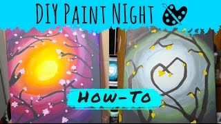 DIY Paint Night