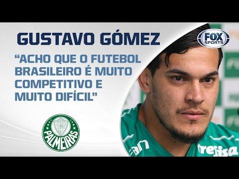 PALMEIRAS AO VIVO! Veja entrevista coletiva com Gustavo Gómez