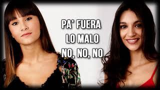 Aitana y Ana Guerra- Lo Malo (Letra)