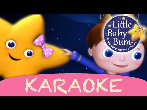 Twinkle Twinkle Little Star   Karaoke Version With Lyrics HD from LittleBabyBum!