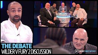 Wilder v Fury 2: The Debate full episode | John Fury, David Haye and Paulie Malignaggi have it out
