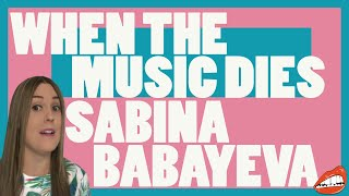 EUROVISION: REACTION TO SABINA BABAYEVA - 'WHEN THE MUSIC DIES' (AZERBAIJAN 2012)