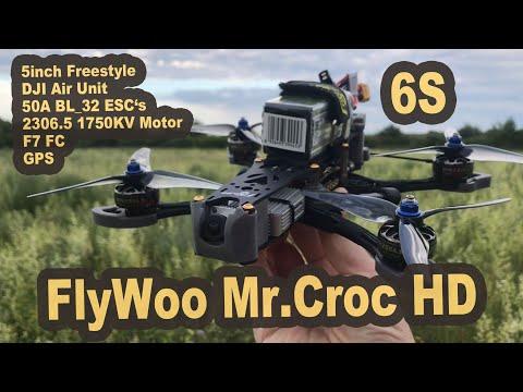 FLYWOO Mr Croc HD DJI Digital 5 inch Freestyle Quad