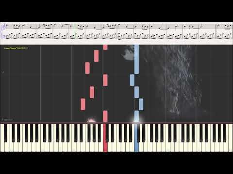 Вальс дождя - Ярослав Никитин  (Ноты и Видеоурок для фортепиано) (piano cover)