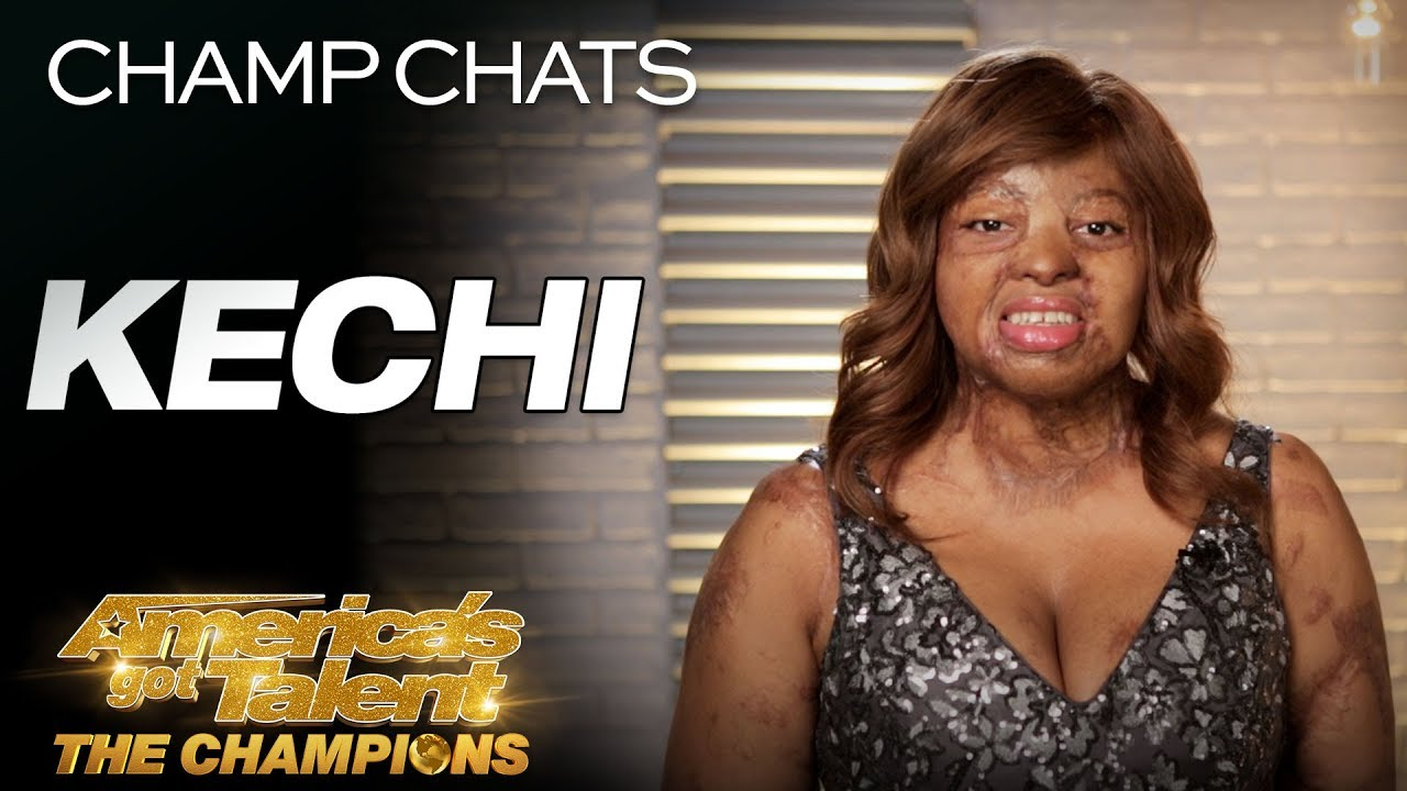 Kechi Is SHOCKED To Get The Golden Buzzer From Simon Cowell - America's Got Talent: The Champions thumbnail