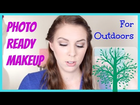 Photo Ready Makeup Tutorial for Outdoor Photo Shoots