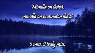 """Video thumbnail of """"Ikävä w/lyrics (english, finnish) - Pave Maijanen"""""""