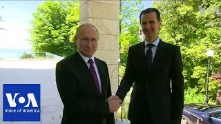 Syria's Assad Meets With Putin in Russia - Video Youtube
