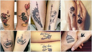 Couple Tattoo Ideas, Small Tattoo Designs, Latest Tattoo Designs 2019, Best Tattoo For Couples