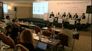Güvenlik - Keşif - Yapay zeka ile öğrenen makineler - Büyük VeriIDC Türkiye 2017 BT Güvenlik Konferansı