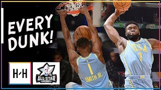 EVERY DUNK at 2018 NBA Rising Stars Game Highlights | Feb 16, 2018