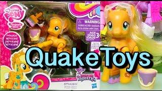 New My Little Pony Action Figure Explore Equestria Wave 2 Painting Applejack Zapcode QuakeToys!
