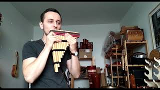 Chromatická Flétna Zampoňa Teran - Panovy flétny - Sundaris Musical Instruments