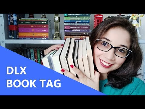 DLX BOOK TAG | Biblioteca da Rô