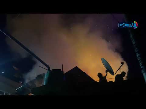 Two houses damaged in massive early morning fire in Kanihama